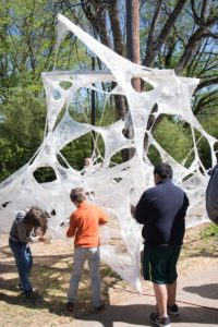 Art Installation at the Intersection Stage<br /><p>Deborah Triplett Photography</p>