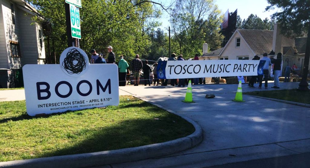 Tosco Music Party on the Intersection Stage