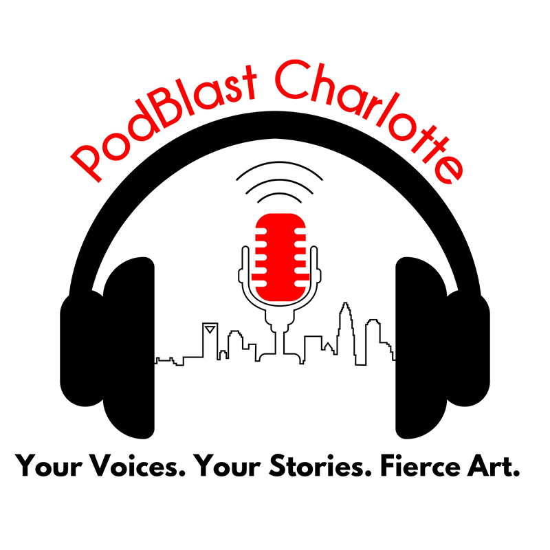 PodBlast Charlotte Logo