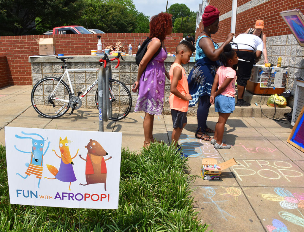 AfroPOP at Library<br /><p>Photo: Kassandra Costa</p>