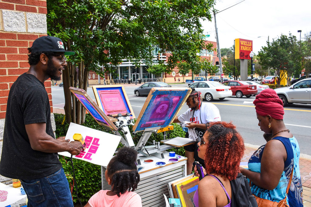 AfroPOP at Plaza Midwood Library<br /><p>Photo: Dick Costa</p>