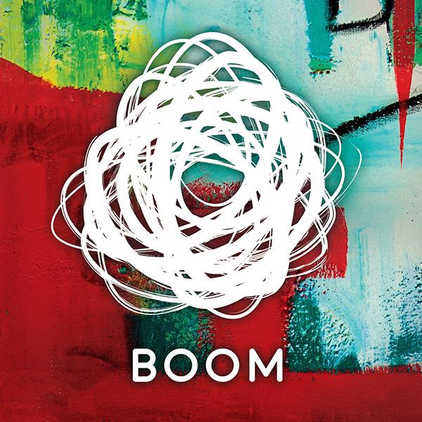 BOOM Logo paint bkgd