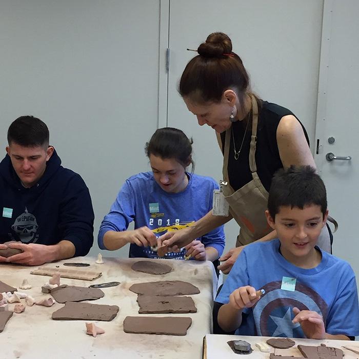 Mint Museum - VIsual Art Workshop
