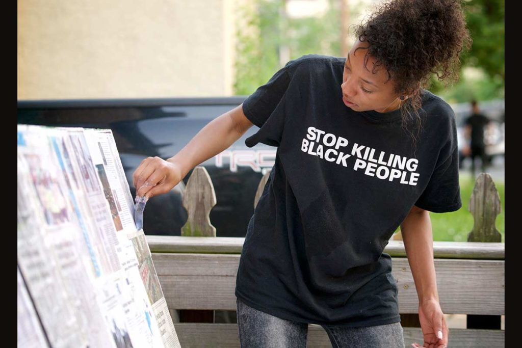 Stop Killing Black People, Photo by David Huff