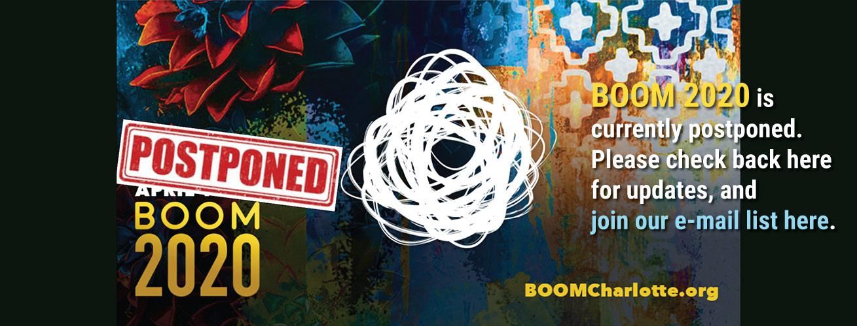 BOOM Postponed