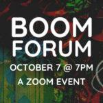 BOOM Forum Vol. 3: Examining Injustice through Art