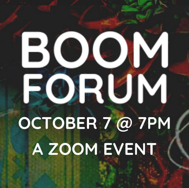BOOM Forum October 7, 2020