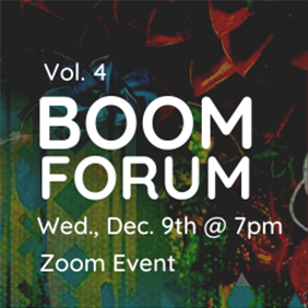 BOOM FORUM, VOL. 4 How Art is Created