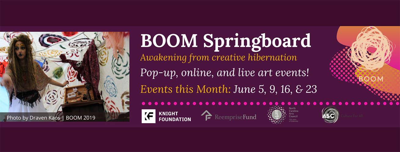 BOOM Springboard banner